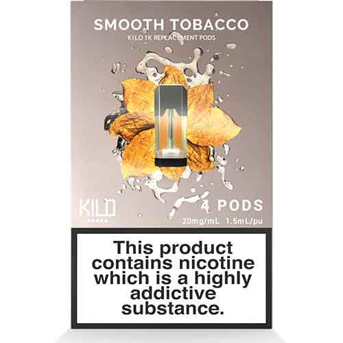 Smooth Tobacco 1K Pods