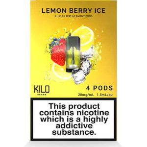 1K Pods Lemon Berry Ice